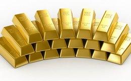 Tiếp tục giảm mạnh, giá vàng xuống dưới 1.300 USD/ounce