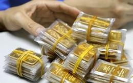 Vàng trong nước chỉ còn đắt hơn thế giới 3 triệu đồng/lượng
