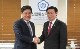 Cuối năm 2014 ký kết Hiệp định thương mại tự do giữa Việt Nam và Hàn Quốc