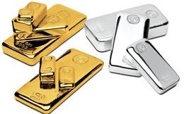 Giá vàng thấp nhất kể từ đầu tháng 1, bạc xuống đáy 4 năm