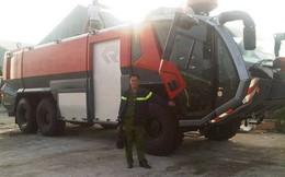Xe chữa cháy triệu đô về Việt Nam