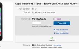 iPhone 5S cài sẵn Flappy Bird được rao bán giá 99.900 USD trên eBay