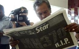 [MH370] Tiết lộ sốc: Lời cuối của phi công là 'Chúc ngủ ngon Malaysia 370'