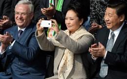 Phu nhân Chủ tịch Trung Quốc dùng điện thoại gì?