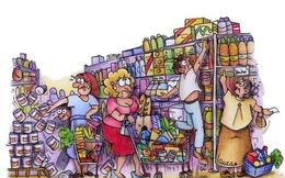 Thị trường tiêu dùng nhanh: Suy giảm ở thành thị, chững lại ở nông thôn