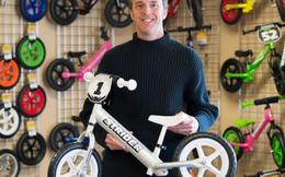 Người cha kiếm 10 triệu đô nhờ ý tưởng cải tiến xe đạp cho con trai