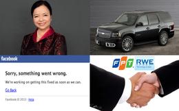 [Nổi bật] Tâm nguyện của nữ tướng REE, Facebook bất ngờ 'sập' 20 phút