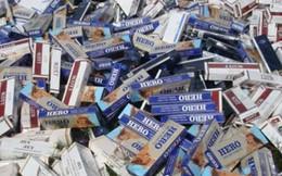 Hải quan thu giữ 28.699 bao thuốc lá lậu
