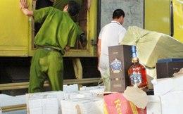 Thu giữ nhiều loại thực phẩm nhập lậu tuồn vào thị trường dịp sát Tết