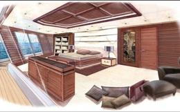 Cận cảnh siêu du thuyền trị giá 150 triệu USD