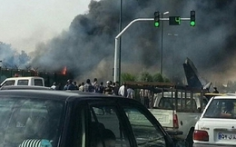 Rơi máy bay ở Iran, 48 người chết
