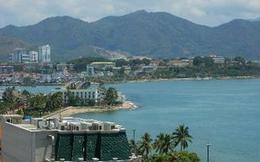 Đình chỉ việc khách sạn lấn biển tại vịnh Nha Trang