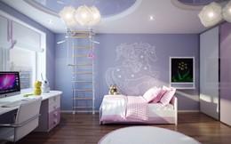Mẫu thiết kế phòng ngủ cho trẻ em cực bắt mắt