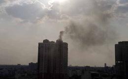 Lại cháy căn hộ ở chung cư 25 tầng Phúc Thịnh