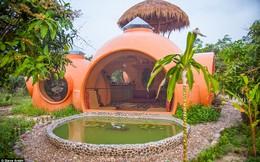 Độc đáo resort mini bằng gạch với tổng chi phí xây dựng hơn 180 triệu đồng