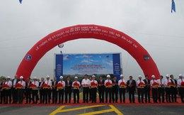 Thông xe thêm gần 30km của tuyến đường cao tốc dài nhất Việt Nam