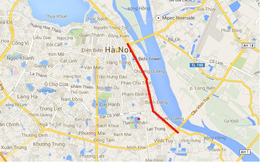Hà Nội: Mở rộng đường đê từ cầu Chương Dương đến cầu Vĩnh Tuy