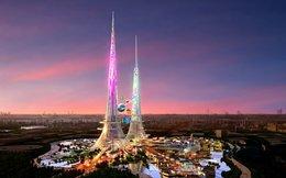 Sắp xây dựng tòa tháp đôi cao nhất thế giới