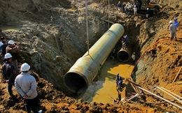 Sẽ thanh tra đường ống nước vỡ 9 lần của Vinaconex