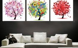 Trang trí tường nhà ấn tượng bằng tranh nghệ thuật