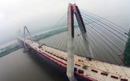 Lùi thời gian thông cầu Nhật Tân đến tháng 1/2015