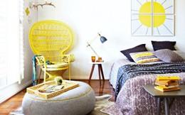 """""""Mê mệt"""" cách phối màu phòng ngủ cực đẹp cho mùa xuân2015"""