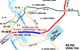 Sắp thông toàn tuyến cao tốc Long Thành