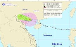 Tâm bão số 3 đi vào Quảng Ninh