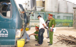 Báo cáo vụ doanh nghiệp thuê vệ sĩ uy hiếp dân