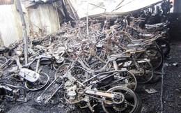 Tp.HCM: Cháy kinh hoàng, hơn 300 xe máy bị thiêu rụi