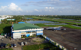 Tạm thời đóng cửa sân bay Cà Mau