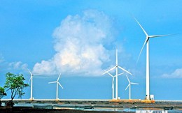Khởi công giai đoạn 1 nhà máy điện gió tại Ninh Thuận