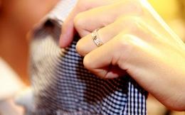 Cận cảnh nhẫn cưới phủ đầy kim cương của vợ chồng Tăng Thanh Hà