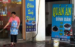 Sát 'nách' Thủ đô: Cả phố trưng biển tiếng Trung Quốc
