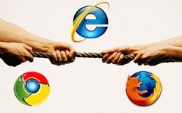 Internet Explorer được người dùng ưa chuộng nhất