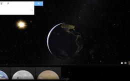 Thám hiểm Mặt Trăng, Sao Hỏa trên Google Maps