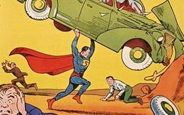 Cuốn truyện tranh siêu nhân lập kỷ lục đấu giá