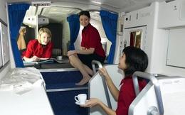 Khám phá buồng ngủ 'bí mật' bên trong máy bay Boeing 777 và 787