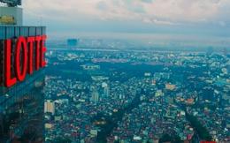 Trên đỉnh tòa tháp Lotte Center Hà Nội mới khai trương có gì đặc biệt?