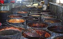 Trung Quốc: Rùng mình cảnh làm hàng trăm tấn dầu ăn bẩn từ chất thải nhà bếp, dầu nhờn