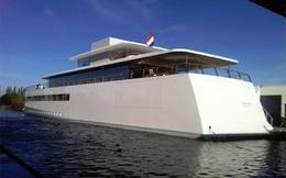 Steve Jobs vẫn nợ tiền thiết kế du thuyền hình iPhone