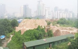 """Vụ đổ rác ở Dự án công viên Cầu Giấy: Điều tra việc """"bảo kê"""""""