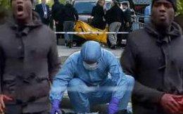 Hình ảnh khủng bố đẫm máu ở London
