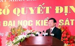 Thành lập trường Đại học kiểm sát Hà Nội
