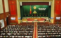 Hôm nay, bế mạc kỳ họp thứ 5, Quốc hội khoá XIII