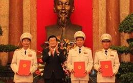 Phong hàm thượng tướng cho ba thứ trưởng Bộ Công an