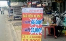 Hà Nội: Bảo hiểm xe máy giá rẻ tái xuất hiện