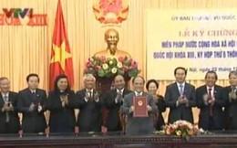 Lễ ký chứng thực Hiến pháp sửa đổi