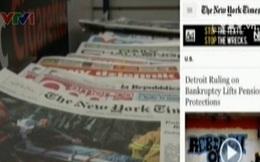 Thông tin Detroit phá sản tràn ngập trên báo Mỹ