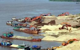 """Câu chuyện"""" chợ cát lậu"""" ở khúc sông giáp ranh Hưng yên - Hà Nội"""